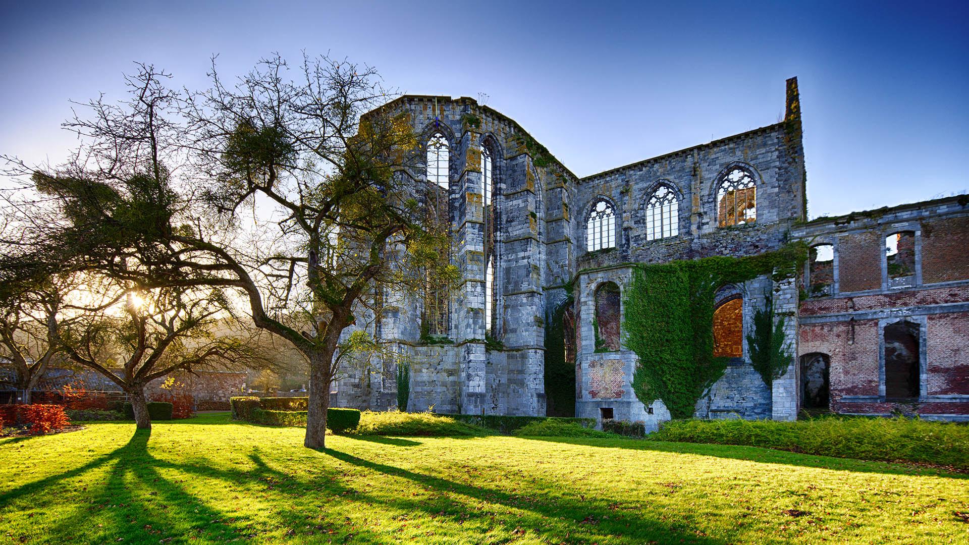 Cliquez ici pour en savoir plus sur Présentation de l'Abbaye d'Aulne